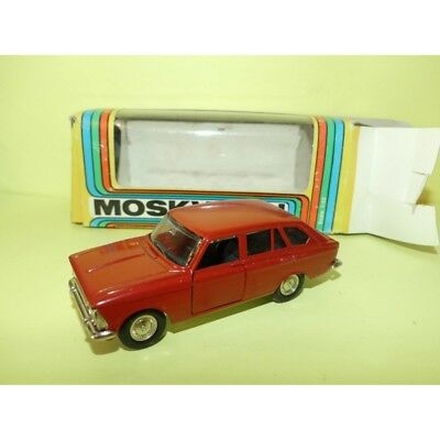 MOSKVITCH 412 KOMBI FABRICATION RUSSE Made In URSS CCCP 1:43