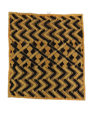 need images!  Kuba Square Raffia Handwoven Textile Congo African Art