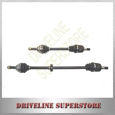 HYUNDAI GETZ CV JOINT DRIVE SHAFTS 2002-2010 MANUAL Non-ABS A SET OF two