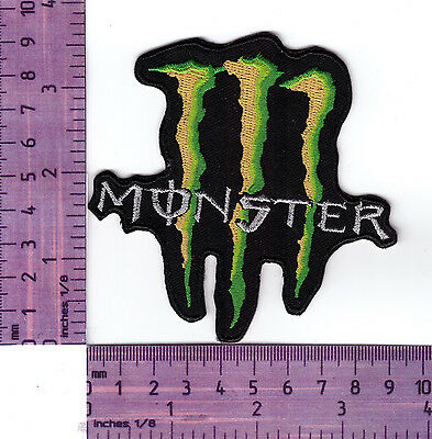 Monster Energy Logo  Embroidered Badge /Cloth Patch