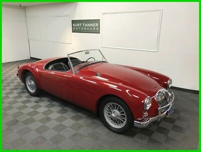 1959 Mg Mga 4-Speed. 48-Spoke Wire Wheels 1959 Mga 1500 Roadster. Excellent Driver With Correct Engine. Ca Blue Plate Car.