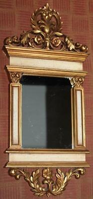Vintage 1960s Syroco Hollywood Regency Mirror Shabby Cottage Chic French Country