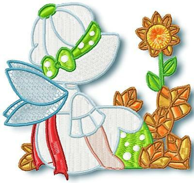 Fall Time Fairy Blocks 12 Machine Embroidery Designs Cd 2 Sizes