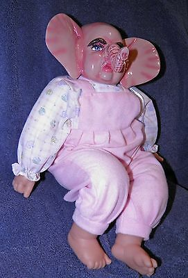 Baby Elephant Hybrid Doll reimagined Baby Doll Other World Babies Fun Different