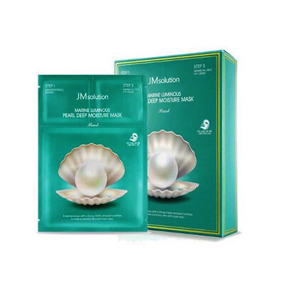 JMsolution Marine Luminous Pearl Deep Moisture Mask 27ml x 10ea