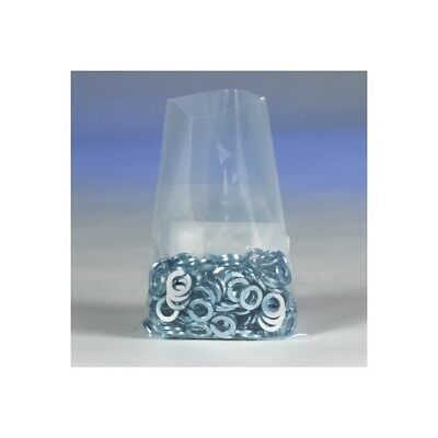 """""""Thornton's Flat 4 Mil Poly Bags, 12"""""""" x 30"""""""", Clear, 250"""""""