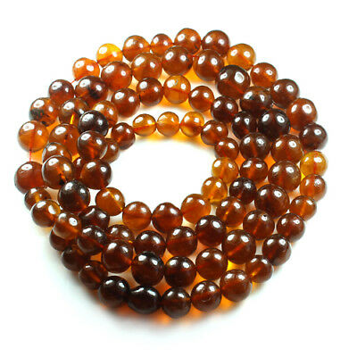 50.33g 100% Natural Mexican Golden Amber Bead Bracelet Necklace CSFb570
