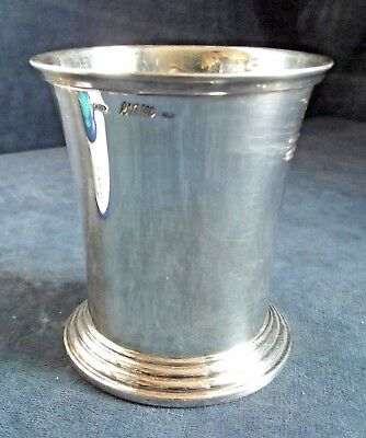 SUPERB ~ SOLID SILVER ~ Tankard BEAKER ~ .800 by R.Naello ~ 191g