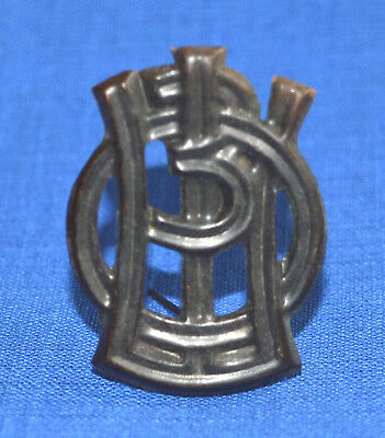 Bulgarian Army Sergeant School Pin BADGE NCO's Insignia for Shoulder boards