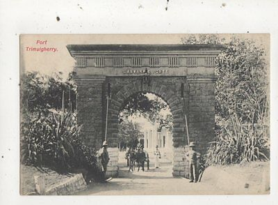 Fort Trimulgherry India Vintage Postcard 834a