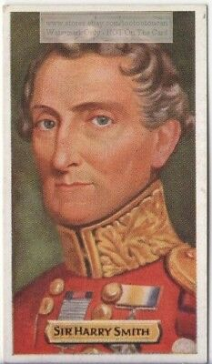 Sir Harry Smith British Army Napoleonic Wars 80+ Y/O Trade Ad Card