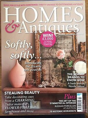 Homes and Antiques house/lifestyle/interiors magazine, March 2018