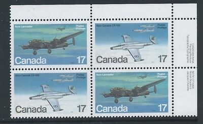 Canada #874i (#874a) UR PL BL Signal Light on Wing Variety MNH *Free Shipping*