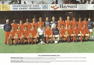Collection Of #30 Bournemouth Football Team Photos
