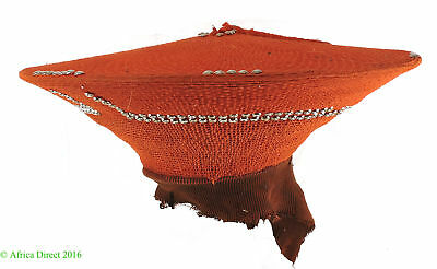 Zulu Married Woman's Headdress Hat Isicholo African Art