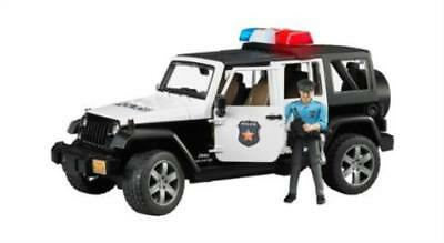 Bruder 2526 Jeep Rubicon Police car with Policeman