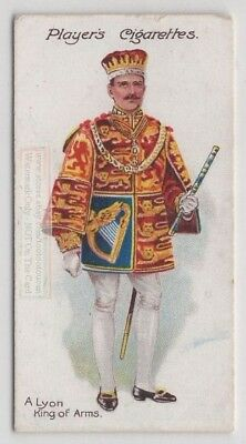 Lord Lyon King of Arms Formal Dress Scotland 100+ Y/O Trade Ad Card