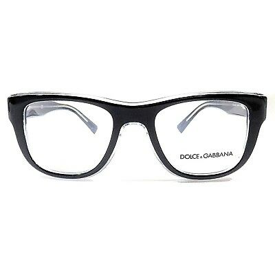 42a3c650ee2 New DOLCE   GABBANA Optical Eyeglasses RX Frame DG3252 3048 Blue Clear 51 -20-