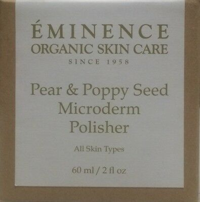 Eminence Pear and Poppy Seed Microderm Polisher - 60 ml / 2 oz  (New In Box)
