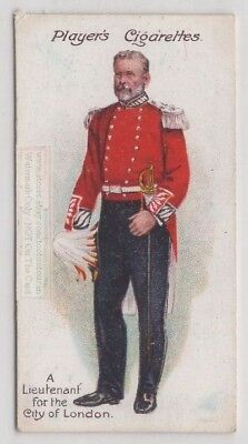 Lieutenant For The City Of London England Uniform 100+ Y/O Trade Ad Card