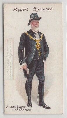 Lord Mayor Of London England Uniform 100+ Y/O Trade Ad Card