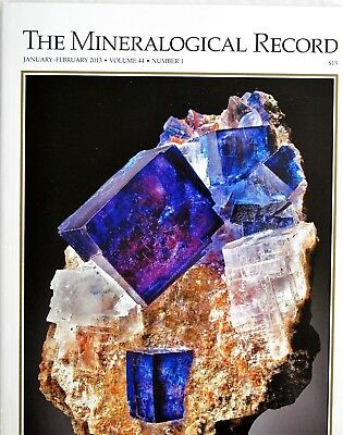 Carlsbad Potash Basin Dawsonite Mineralogical Record Jan-Feb 2013 Vol 44 No 1