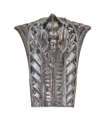 Ornamented Riveted Joint Cast Iron Interior Support Column Capital Fragment