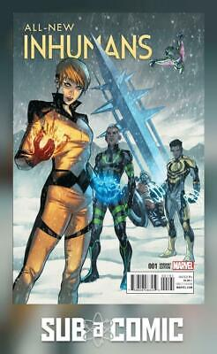 ALL NEW INHUMANS #1 CASELLI VARIANT (MARVEL 2015 1st Print) COMIC
