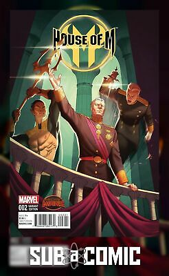 HOUSE OF M #2 HUMMEL VARIANT (MARVEL 2015 1st Print) COMIC