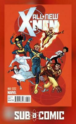 ALL NEW X-MEN #3 FERRY VARIANT (MARVEL 2016 1st Print) COMIC
