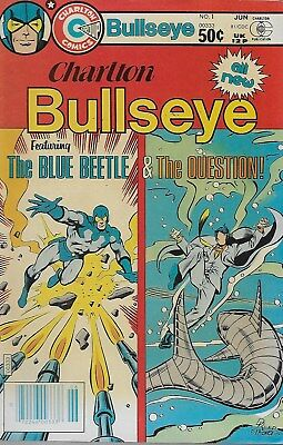 Charlton Bullseye No.1 / 1981 The Blue Beetle & The Question