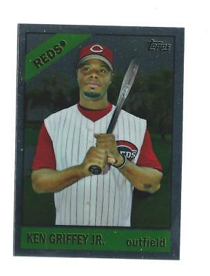 2008 Topps Chrome Trading Card History #TCHC24 Ken Griffey Jr Reds