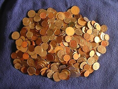 Large Lot Canadian Coins $107.00 Face Value World Money Canada Collection
