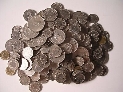 Lot Swiss Coins 100.40 Francs Face Value World Money Switzerland