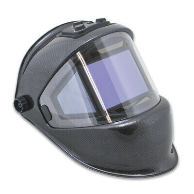 TGR Panoramic 180 View Solar Powered Auto Darkening Welding Helmet - True Color