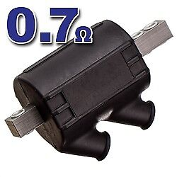 Premium Quality Dual Tower Ignition Coil - BMW Airhead 0.7 Ohms, EDL-Coil0.7OHM