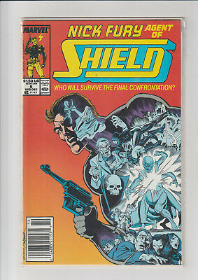 Nick Fury, Agent of SHIELD #6 (1990, Marvel)  NM-