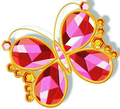 A Touch Of Crystal10 Machine Embroidery Designs Cd 4 Sizes Included
