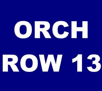 David Byrne tickets Los Angeles Shrine Auditorium 8/25 *** ORCH RC, ROW 13! ***