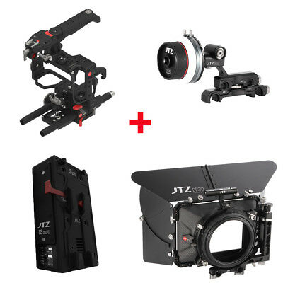 JTZ DP30 Cage Baseplate Matte Box Shoulder Grip Rig Kit for SONY A7 A7R A7S II