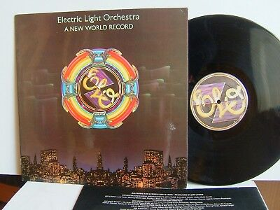 Electric Light Orchestra - A New World Record JETLP 200 UK LP 1976 Jet ELO