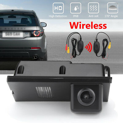 Wireless Car Reverse Rear View Camera For Land Rover Discovery Freelander 2 3 4