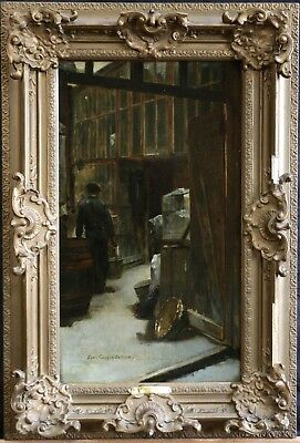 LOUIS CARRIER BELLEUSE (1848-1913) SIGNED FRENCH IMPRESSIONIST OIL to £35,000