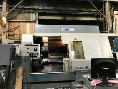 Sc25 Warner & Swasey Hollow-Spindle Long-Bed 4-Axis Cnc Turret Lathe - #tw316