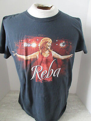 2010 Reba Mcentire All The Woman I Am Tour T-Shirt Size Small