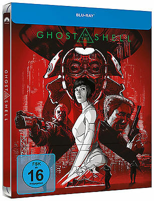 Ghost in the Shell (2017) Limited Steelbook Edition (Blu-ray) NEU&OVP!
