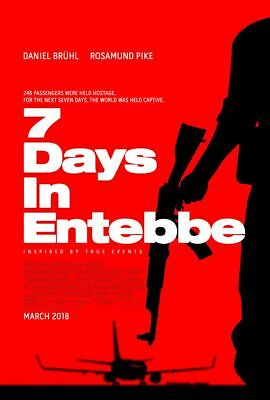 7 Days In Entebbe - original DS movie poster - 27x40 D/S