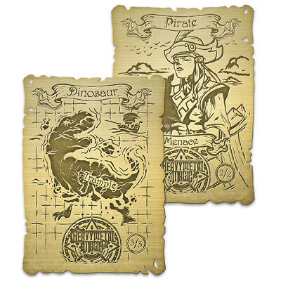 Heavy Metal Magic Gold Double-Sided Token CoolStuffGames Exclusive Rivals Ixalan