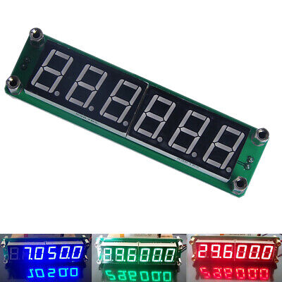 1~1000 MHz Digital Frequency Counter Meter Tester Cymometer 8 Digits LED Display