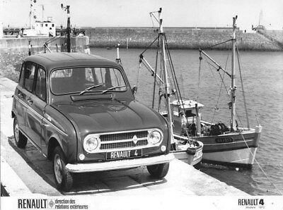 1972 Renault 4 ORIGINAL Factory Photo oua2133
